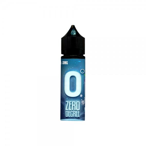 Zero Degree Premium PG+VG E-liquid E-juice 60ml(Blue Mist, 6mg/ml)