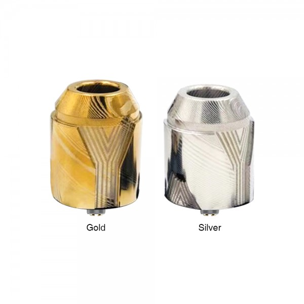 AFK STUDIO THE WHITE WALKERS RDA (Damascus Steel)(Gold)